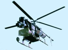 Robotic Helicopter With PA Attached